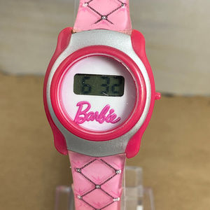 Pink Barbie Digital Watch